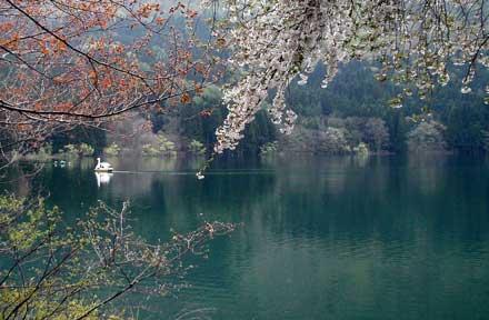 Hokuryu-ko, Iiyama, Nagano