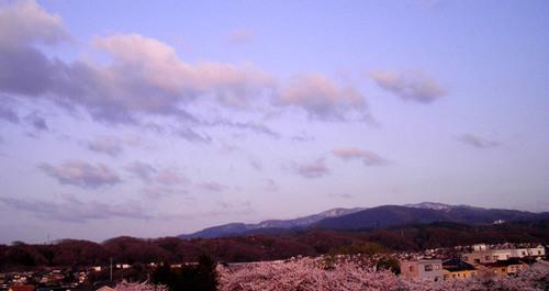 Kanazawa in Rosy Haze 4